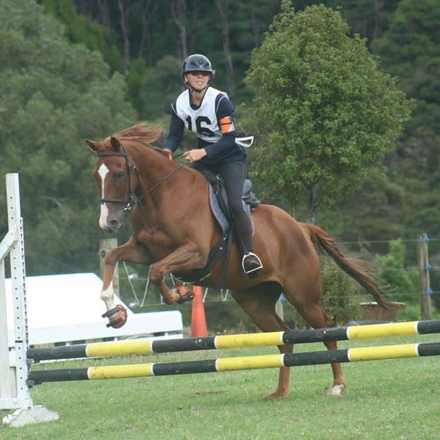 Gino jumping